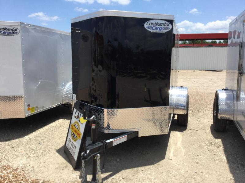 2018 Continental Cargo 5 X 8 TRAILER SINGLE AXLE ENCLOSED Enclosed Cargo Trailer