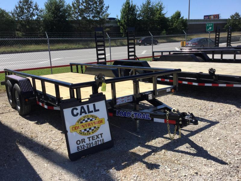 2017 Load Trail 16 X 83 PIPE TOP UTILITY TRAILER Utility Trailer