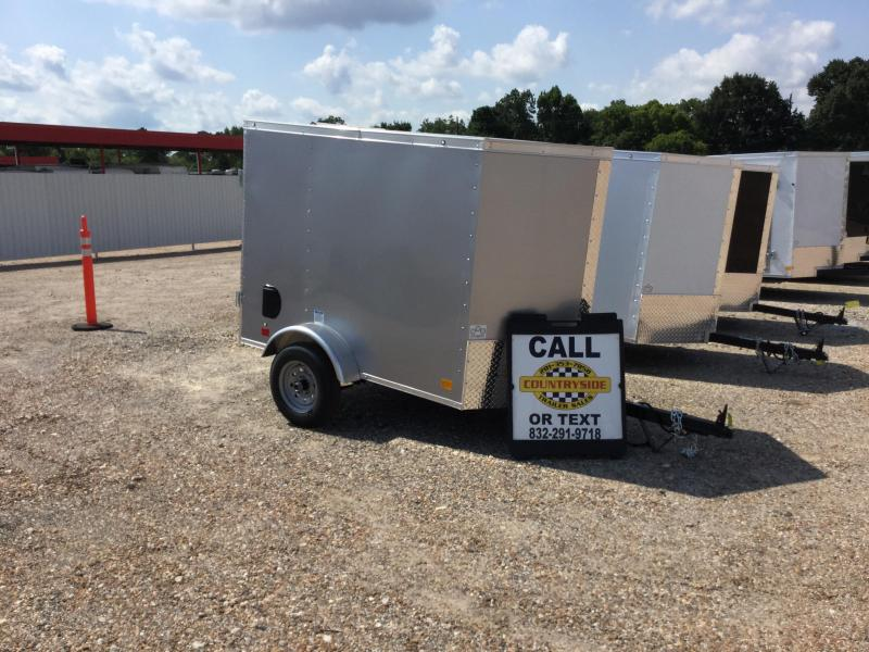 2018 Continental Cargo 4 X 6 ENCLOSED CARGO SINGLE AXLE TRAILER Enclosed Cargo Trailer
