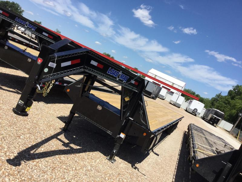 2017 Load Max 102 X 40 GOOSENECK TRAILER DECK OVER Flatbed Trailer