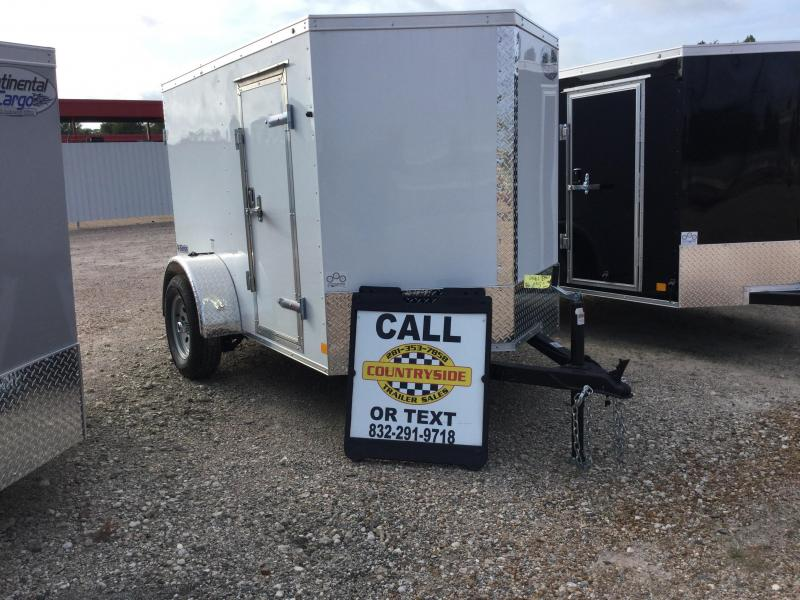 2018 Continental Cargo 5 X 8 TRAILER SINGLE AXLE Enclosed Cargo Trailer