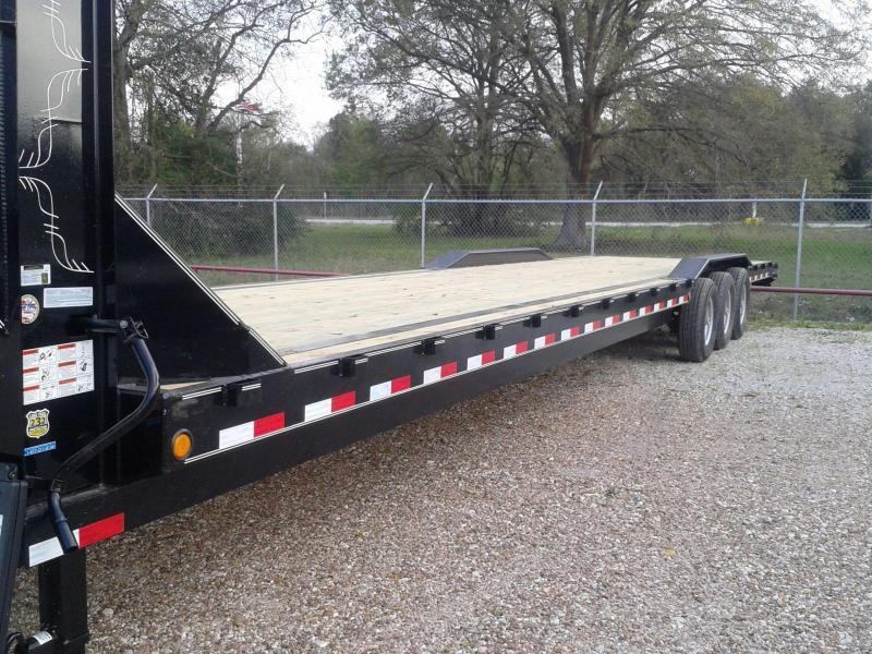 2017 Load Max 102 X 40 EQUIPMENT GOOSENECK Flatbed Trailer
