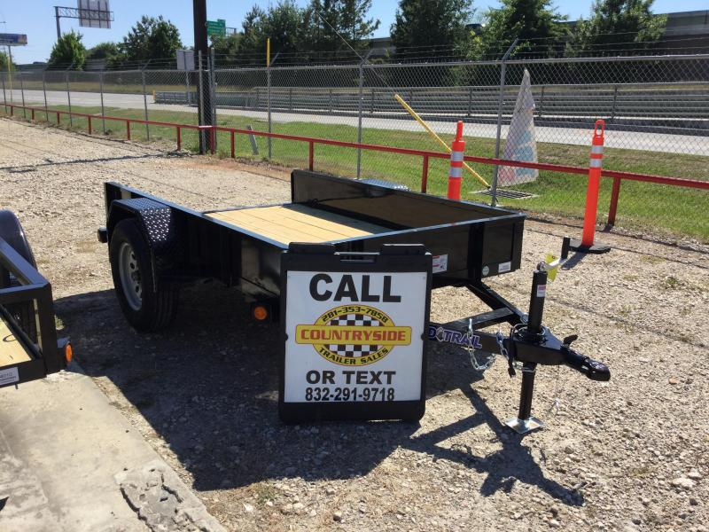 2017 Load Trail 5 X 8 SINGLE AXLE UTILITY TRAILER Utility Trailer