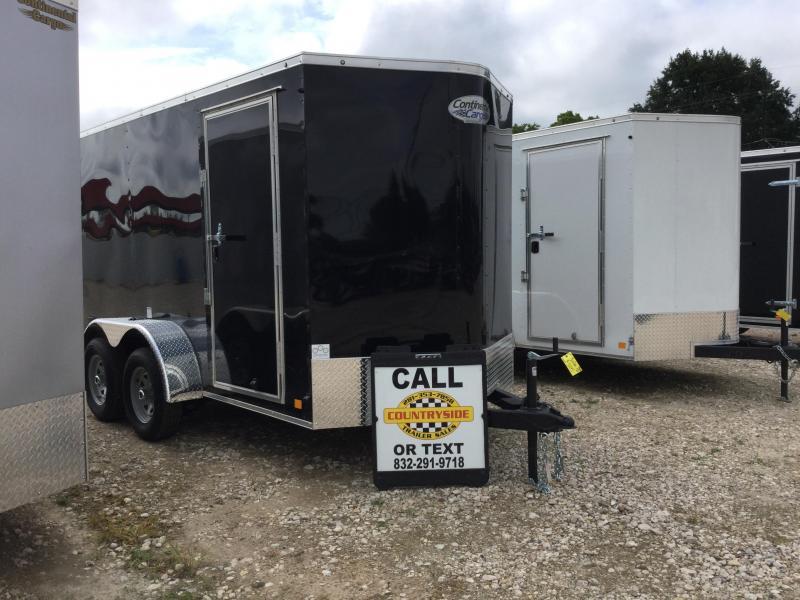 2018 continental cargo 6 x 12 trailer tandem axle enclosed for 4 box auto in tandem