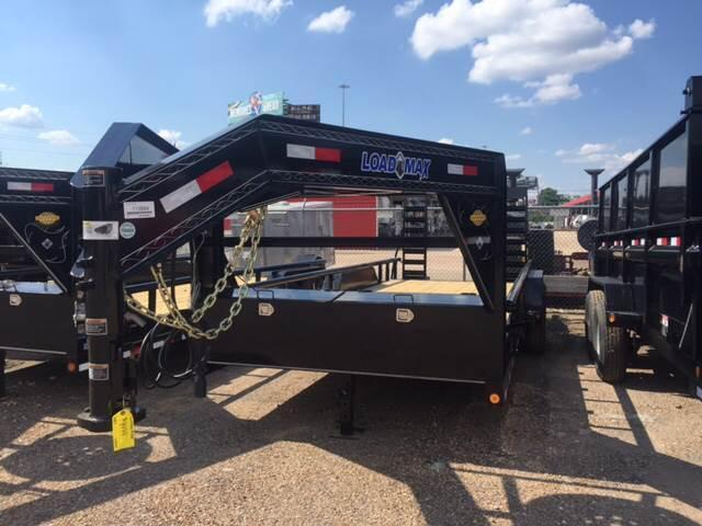 2017 Load Trail 83 X 20 PIPE TOP GOOSENECK UTILITY WITH RAMPS