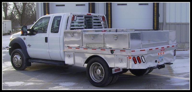 2017 Zimmerman 97x109 Aluminum Truck Body