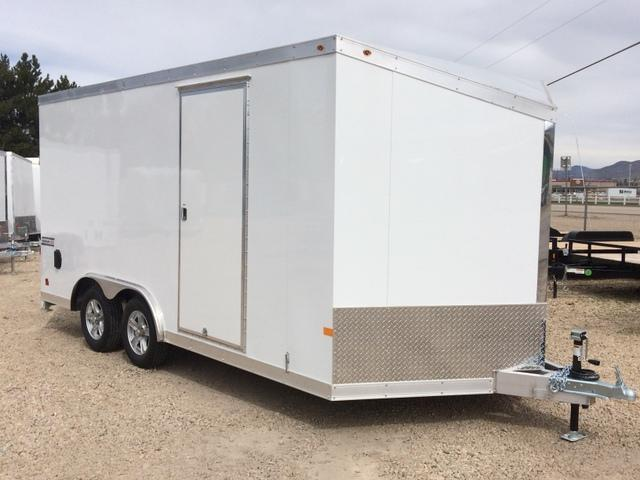 2017 Haulmark ALUMINUM 8.5 X 16 Enclosed Cargo Trailer