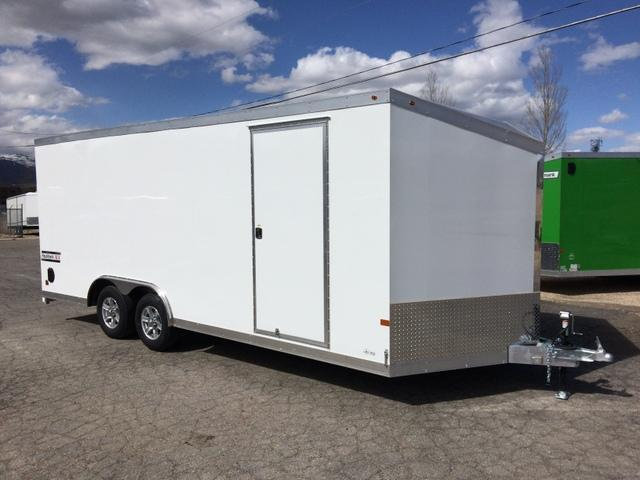 2017 Haulmark ALUMINUM 8.5 X 20 Enclosed Cargo Trailer