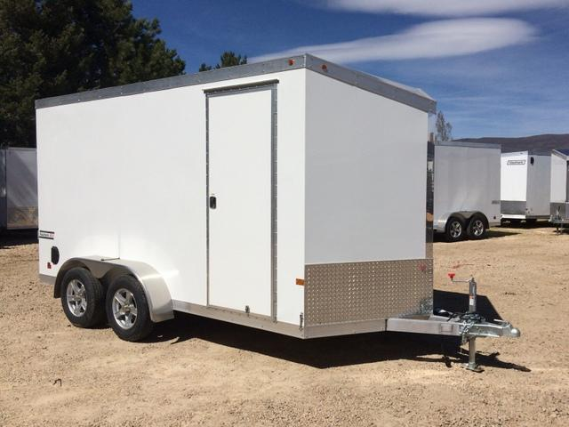 2017 Haulmark Aluminum 7 X 14 Enclosed Cargo Trailer