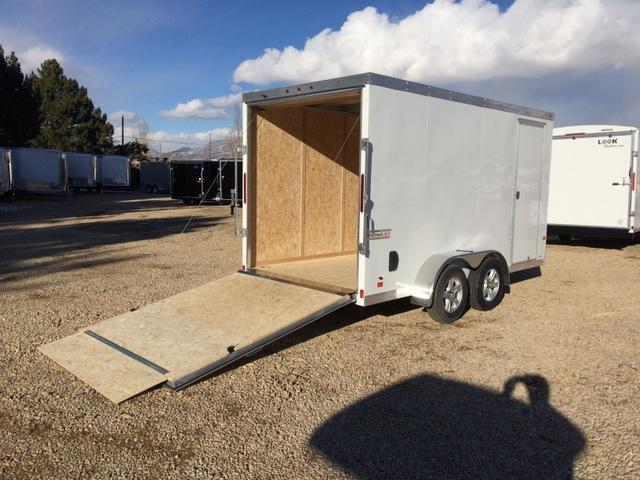 2017 Haulmark All Aluminum 7 X 14 Enclosed Cargo Trailer