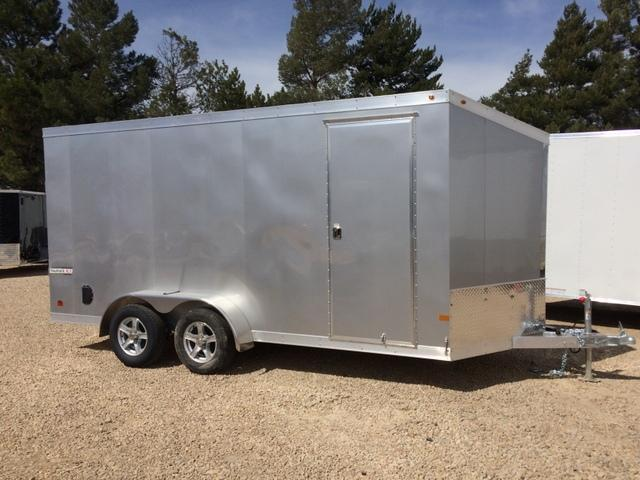 2017 Haulmark ALUMINUM 7 X 16  Enclosed Cargo Trailer
