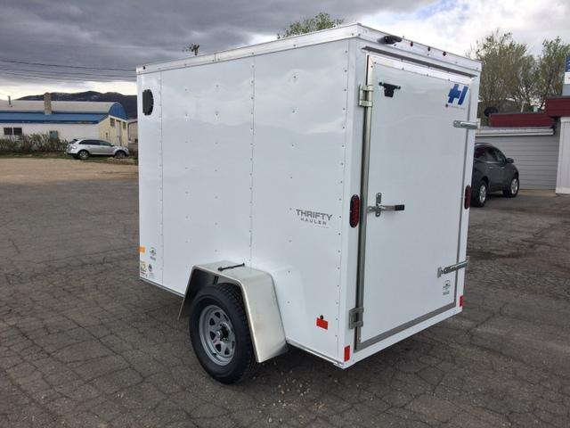 2017 Haulmark THRIFTY 5 X 8 Single Rear Door Enclosed Trailer