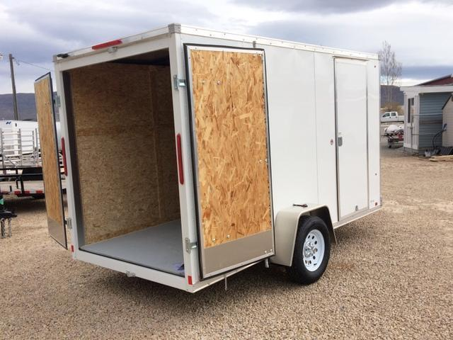 2017 Look Trailers Vision 6 X 12 Enclosed W Barn Door