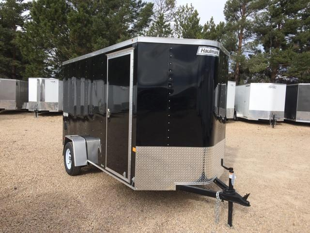 2017 Haulmark PASSPORT 6 X 12 Enclosed Cargo Trailer RAMP DOOR
