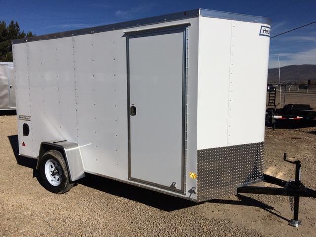 2017 Haulmark PASSPORT 6 X 12 Enclosed Cargo Trailer RAMP DOOR