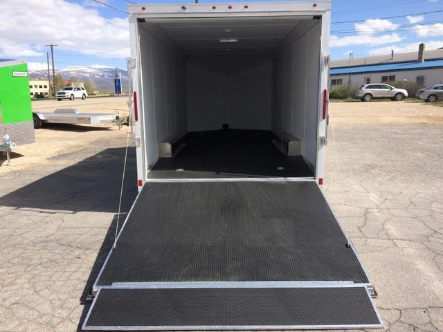 2017 Haulmark Aluminum 8 5 X 20 Enclosed Cargo Trailer