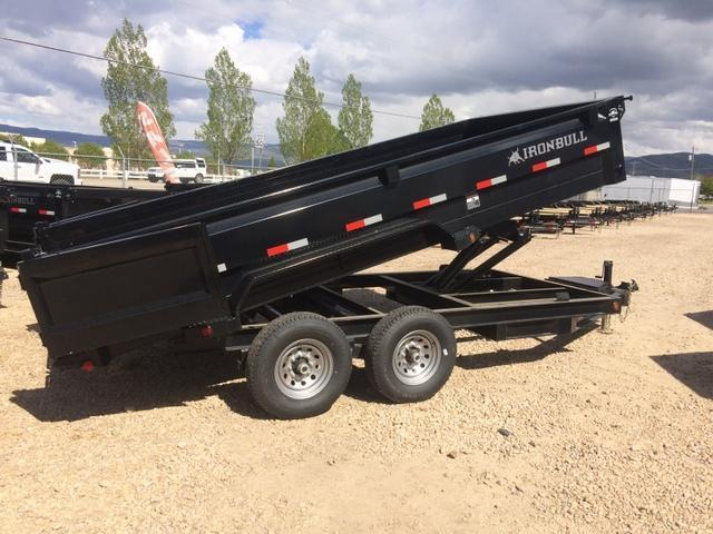 2017 Iron Bull 7 X 16 14000 Dump Trailer Mountain West