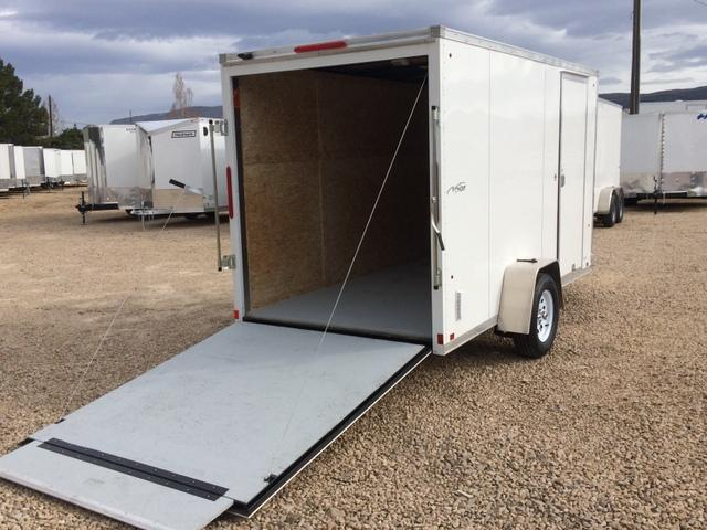 2017 Look Trailers Vision 6 X 12 Enclosed W Ramp Door