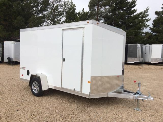NEW Haulmark ALL ALUMINUM 6 X 12  Enclosed Cargo Trailer