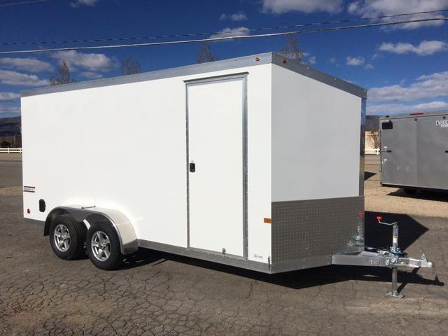 2017 Haulmark HAUV 7 X 16   Enclosed Cargo Trailer