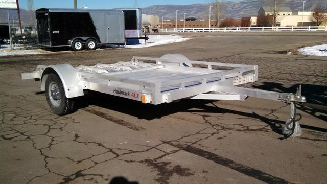 NEW Haulmark all alumiinum 7 x 10 open deck Utility Trailer