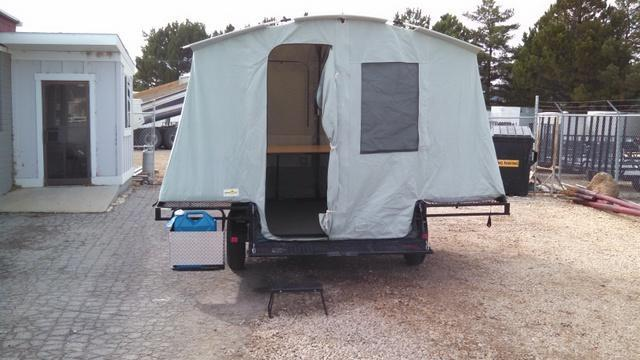 USED 2006 Jumping Jack 6X8 Camping / RV Trailer