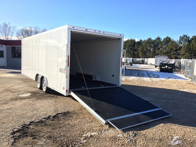 2017 Haulmark Aluminum 8 5 X 24 Enclosed Cargo Trailer