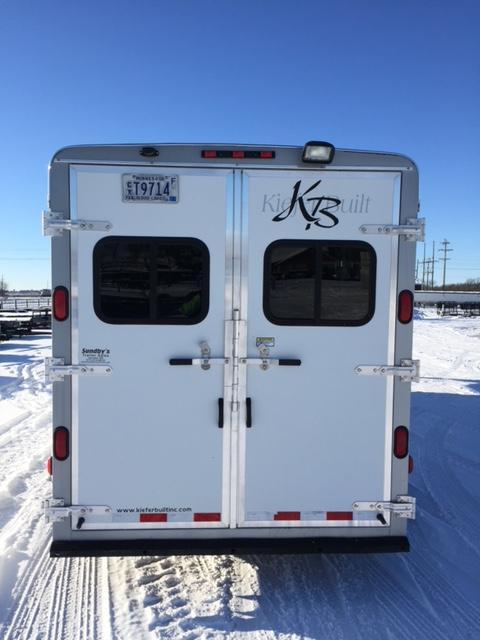 2005 Kiefer Built TRL Horse Trailer