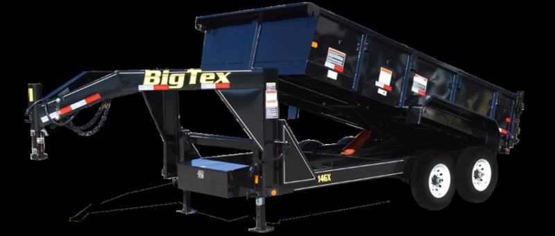 2017 BIG TEX 14GX DUMP TRAILER