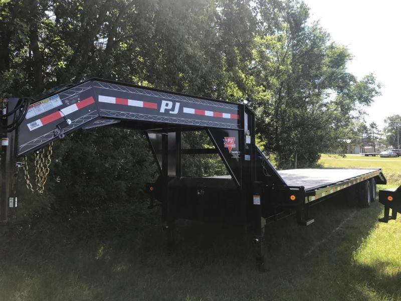 2017 PJ Trailers 32 FD w/Mega Ramps