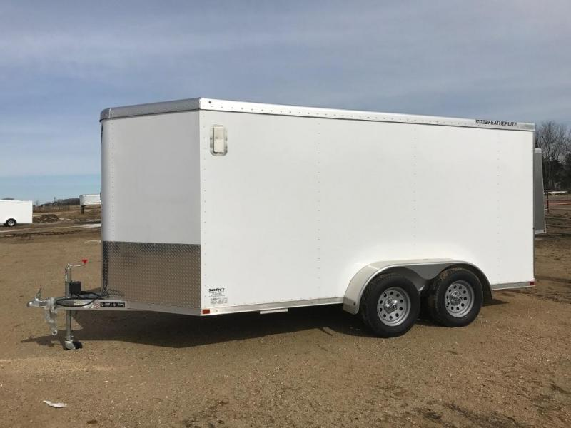 2016 FEATHERLITE 14' ENCLOSED TRAILER