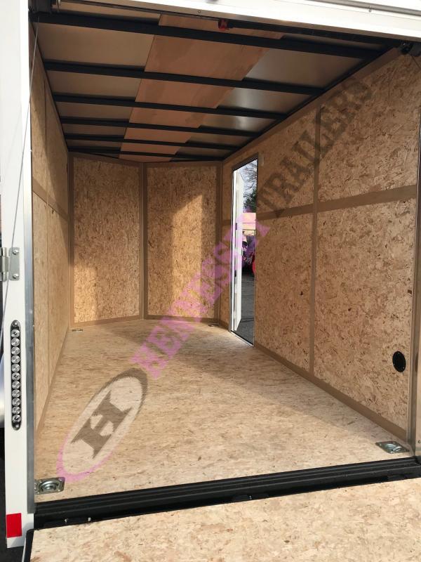 2017 Haulmark HMVG612S Enclosed Cargo Trailer