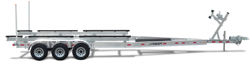 2015 Load Rite Aluminum Bunk Boat Trailer Power Boat