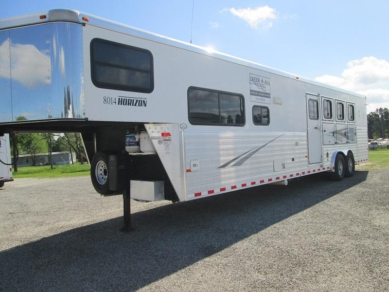 inventory trailer store inc stock and horse trailers for 2010 sundowner trailers 4h lq 8014 horizon ramp horse trailer