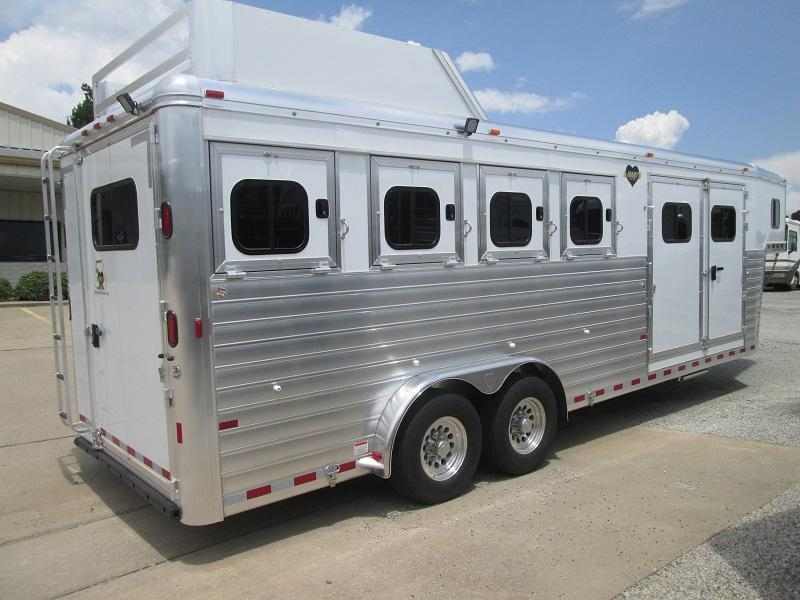 2018 Hart Trailers 4H SMART TACK Horse Trailer