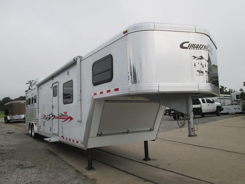 inventory trailer store inc stock and horse trailers for 2008 cimarron trailers 4h lq ramp excellent shape horse trailer