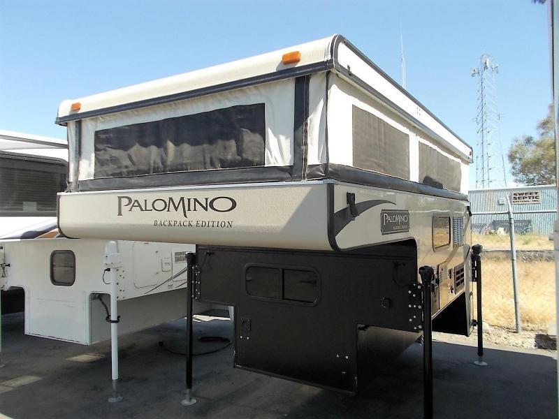 2016 Palomino Backpack 1251/Shortbed Truck Camper