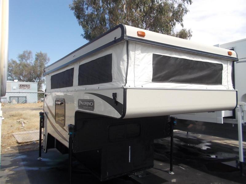 2014 Palomino Backpack 1225/Shortbed Truck Bed Camper