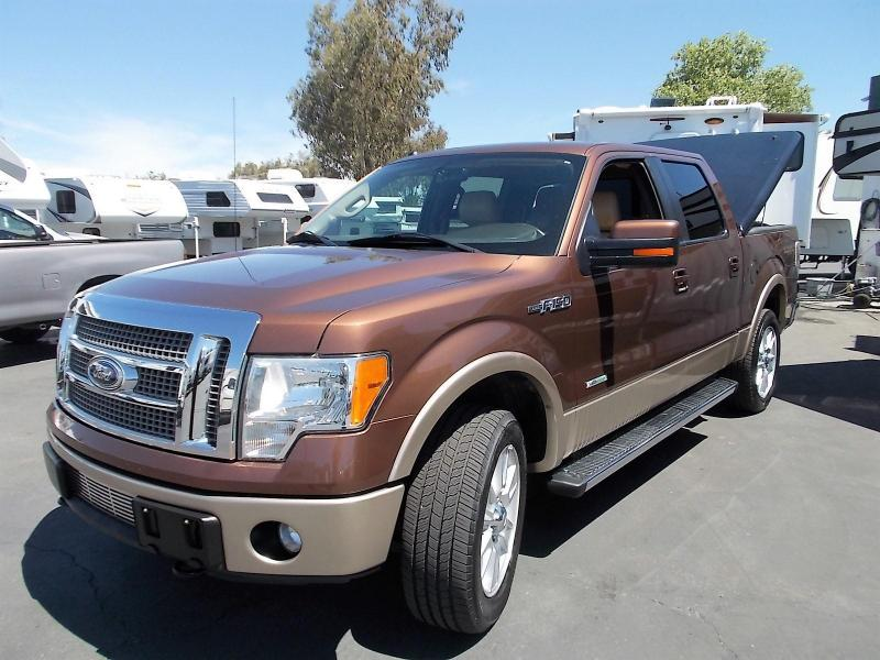 2011 Ford F150 LARIAT ECO BOOST V 6 TRUCK
