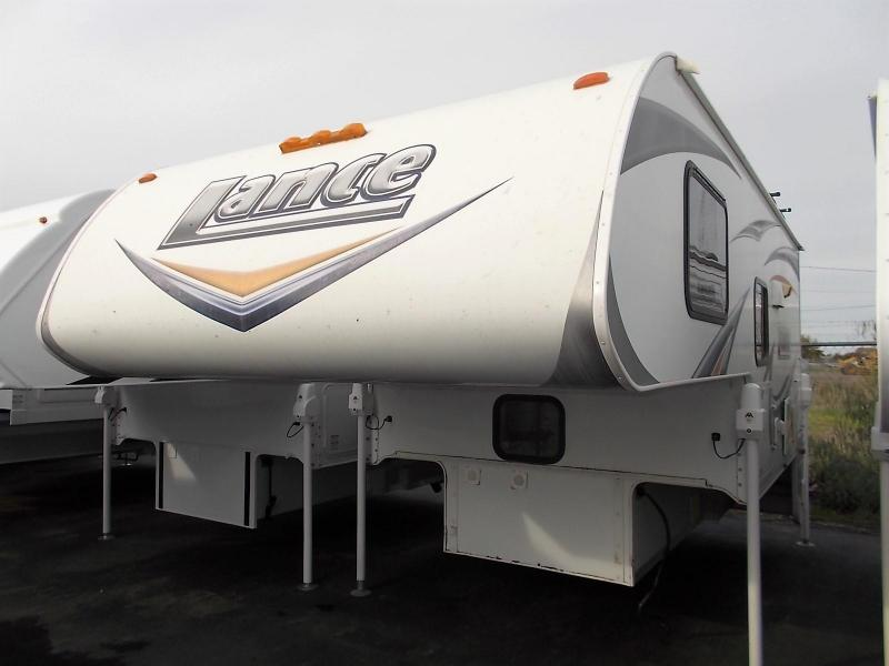 2012 Lance 850 Truck Camper/ Longbed