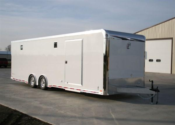 2018 28' inTech ICON All Aluminum Race Trailer