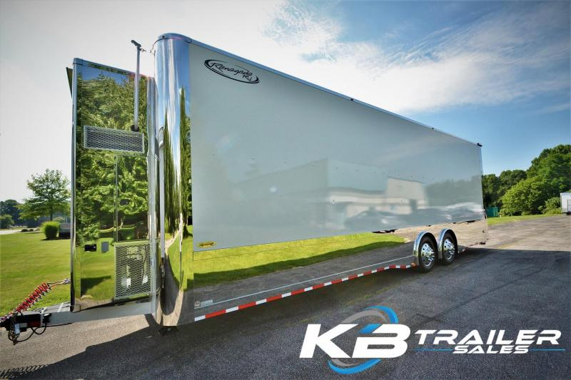 Stacker Trailer For Sale >> 2018 Renegade Liftgate 36 Stacker Trailer Custom Race Trailers By
