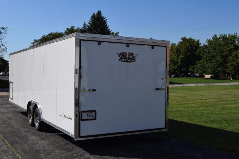 2017 Vintage Trailers 28 Outlaw Car / Racing Trailer