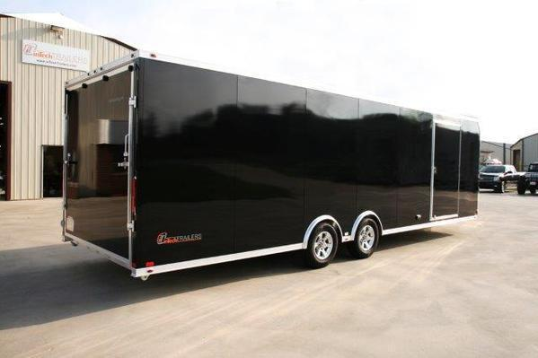 2018 Intech Trailers Aluminum Trailer 20 24 28 Enclosed Trailer Custom Race Trailers By Kb
