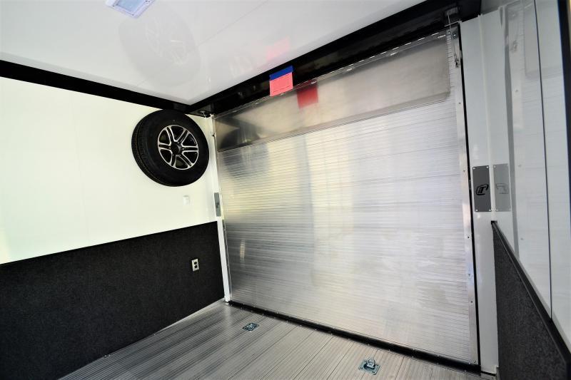 2017 inTech Trailers 24 Intech Icon w/ Full Access escape door - Black anodized pkg   Car / Racing Trailer