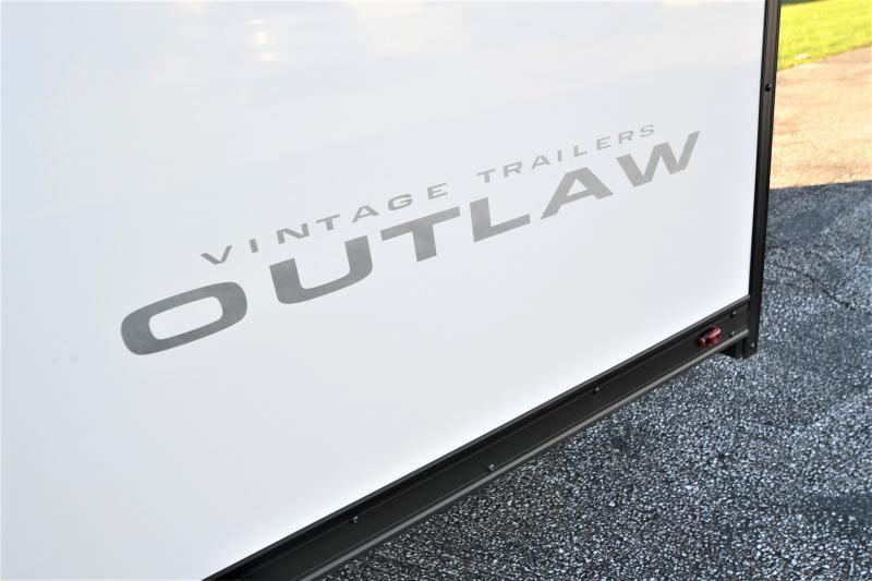 2018 Vintage Trailers Outlaw Blackhawk Edition 28 Car / Racing Trailer