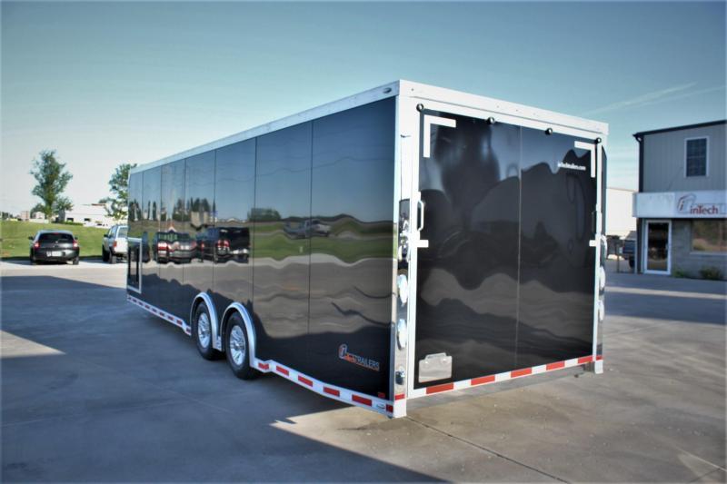 2017 inTech Trailers 28 Icon Aluminum  Car / Racing Trailer