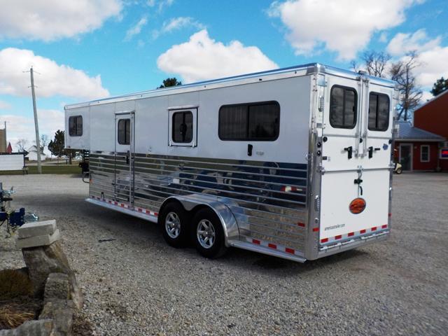 2018 sundowner trailers sunlite charter 2hgntrse livestock