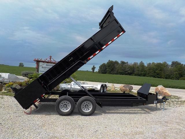 2018 Quality Steel And Aluminum 8316d 14k Low Profile Dump