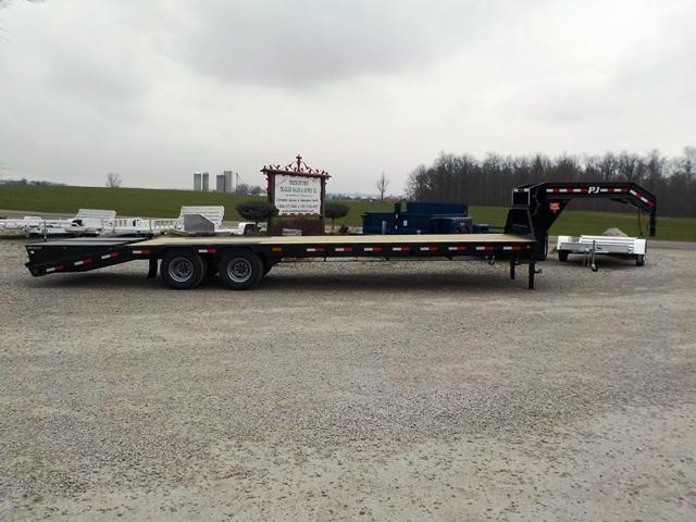 2017 PJ Trailers LDR30A2BSSWO Equipment Trailer